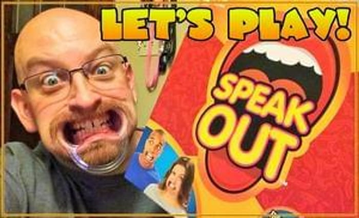 Speak Out Game is IN STOCK at Toys R Us. Great for Ages 16 to 99