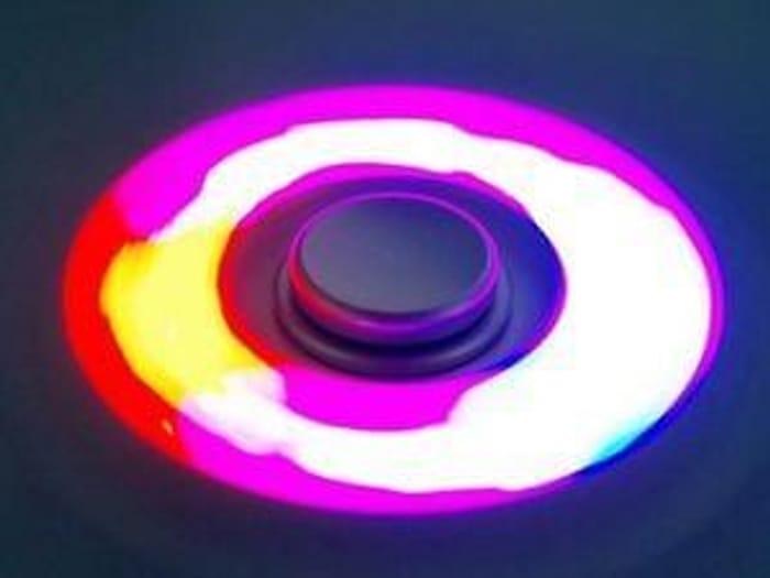 kids craze colour changing fidget spinner plus free post