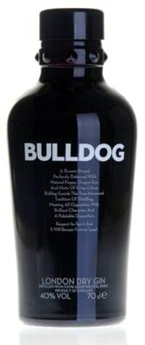 Bulldog Gin (70cl) Only £13 and Free Delivery