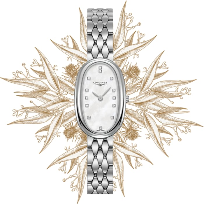 Longines Symphonette Mother of Pearl Ladies Watch