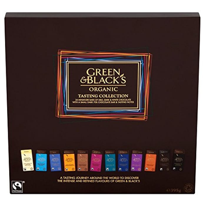CHOCOLATE LOVER? Prime Exclusive! Green & Black's Organic Tasting Collection