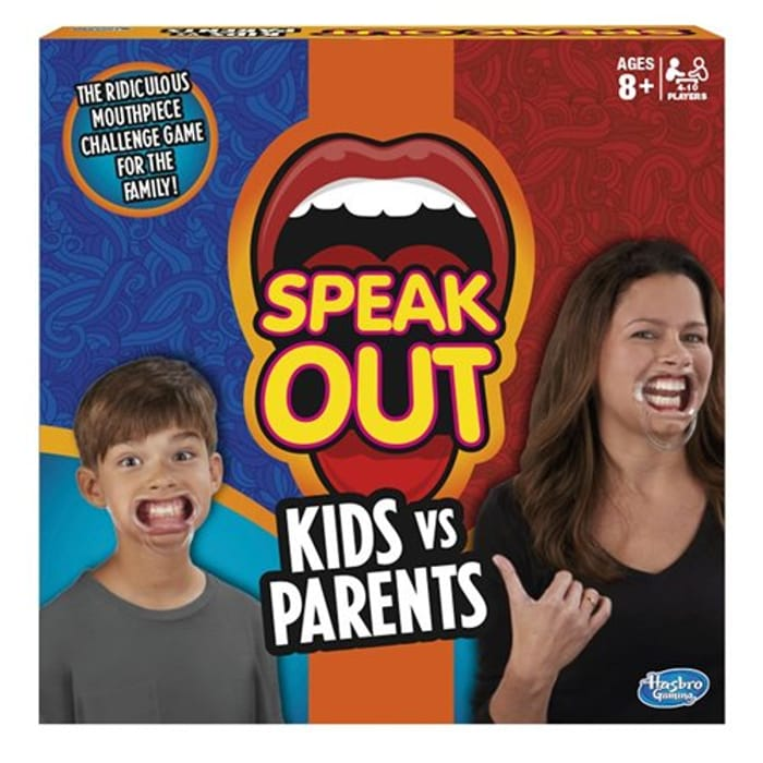 SPEAK out - Kids vs Parents Game £10.99 at Amazon **4.5 STARS** Hilarious Fun!!