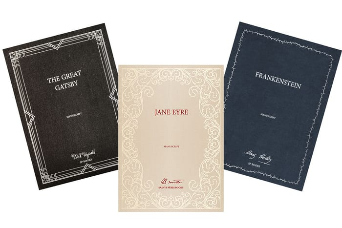 Win Limited Edition Classic Novel Manuscripts worth £650