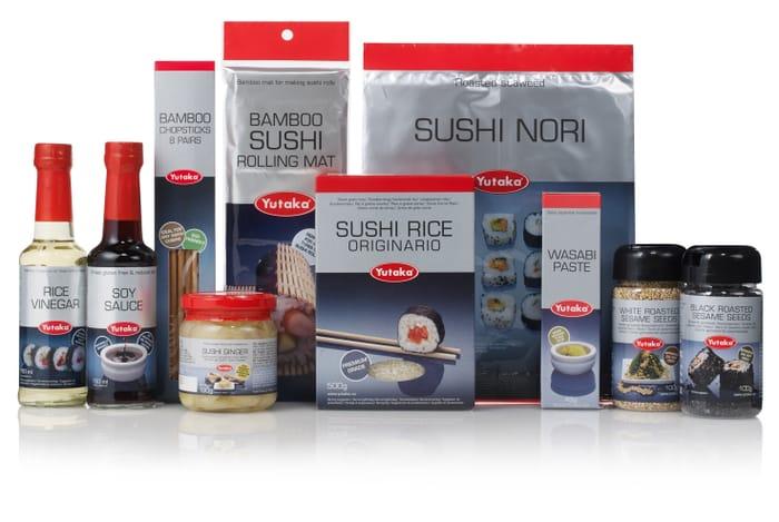Win 1 of 4 Healthy Sushi Hampers from Yutaka worth £25 Each