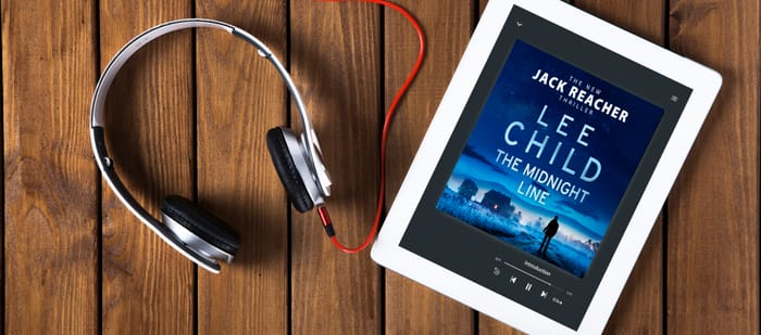 Win the Midnight Line by Lee Child in Audiobook and a Pair of Headphones!