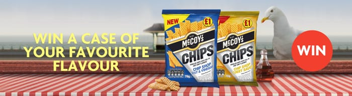 Win a Case of McCoy's Chips