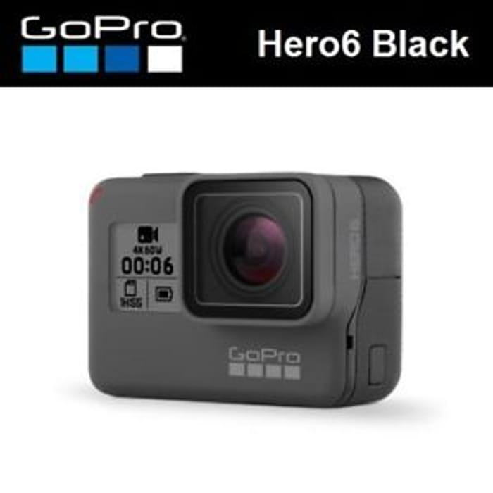 Win a GoPro HERO6 Camera