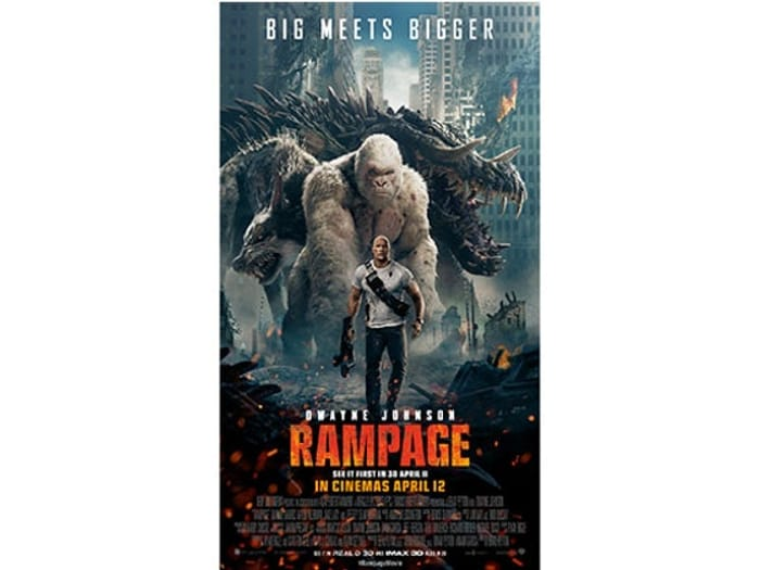 Win Rampage Merchandise Bundle