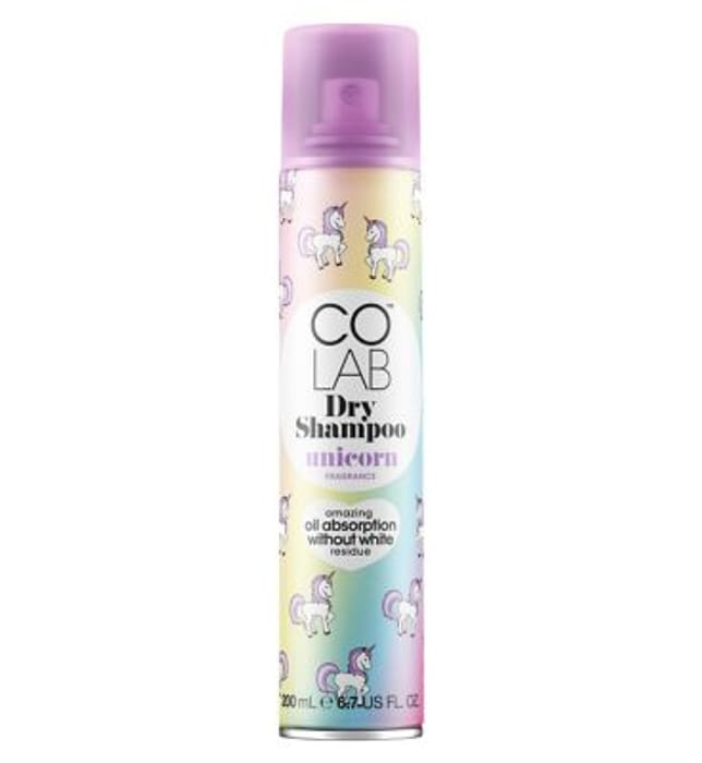 Free Unicorn Water Bottle with Dry Shampoo Purchase