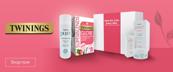 Win 1 of 100 Beauty Prizes with Twinings (Waitrose)