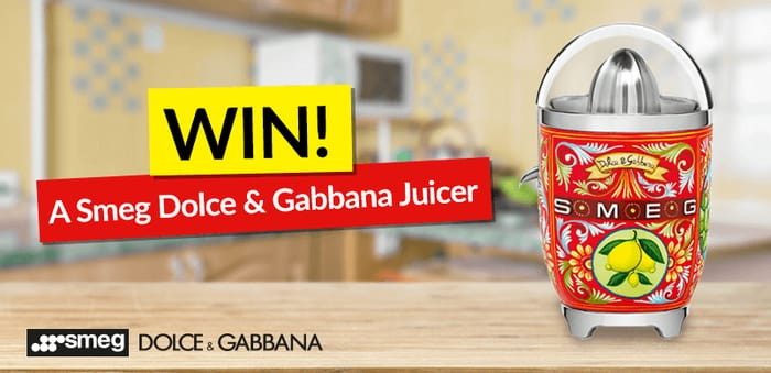 Smeg Dolce and Gabbana Juicer
