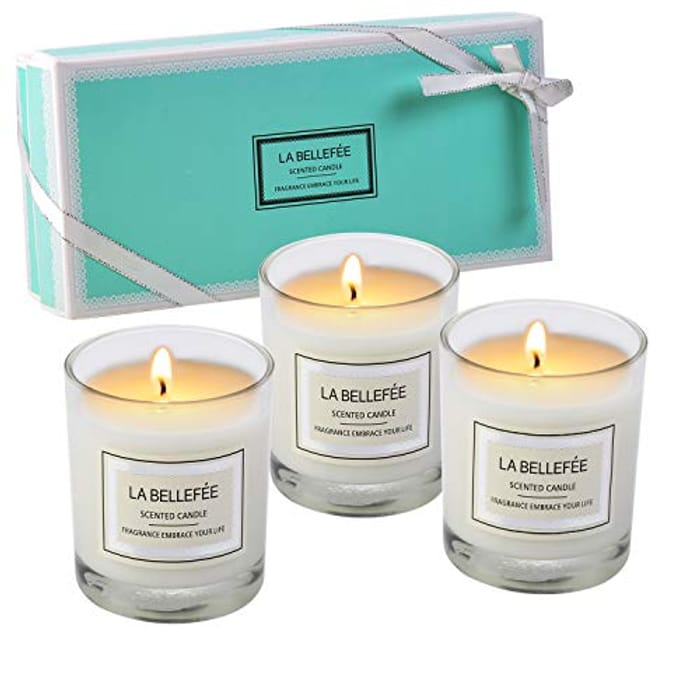 Candles x 3