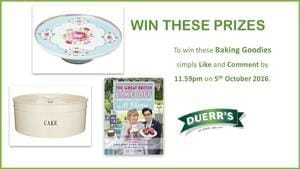 Win A Great British Bake Off Book, Cakestand & Tin