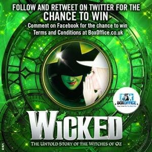 Win A Pair of Tickets to see Wicked in London