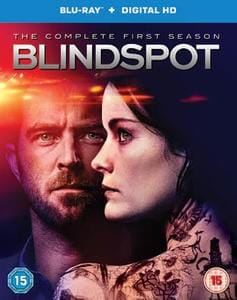Win Blindspot the Complete first Season Blu-Ray