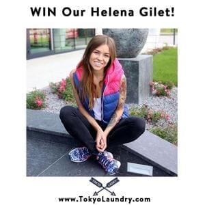 Win A Helena Gilet from Tokyo Laundry