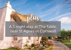 3 night stay at The Fable Cornwall (worth £925) from Unique Home Stays