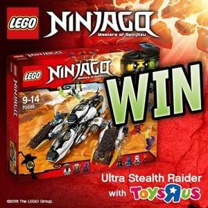 Win a LEGO Ninjago Ultra Stealth Raider set