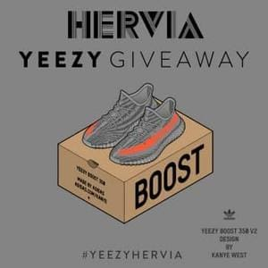 Win a Pair of Yeezy 350 V2 Size 9