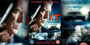 Win Pierce Brosnan's 'I.T.' (2017) On DVD